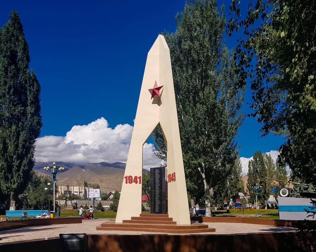 Cholpon Ata's Soviet World War II Memorial