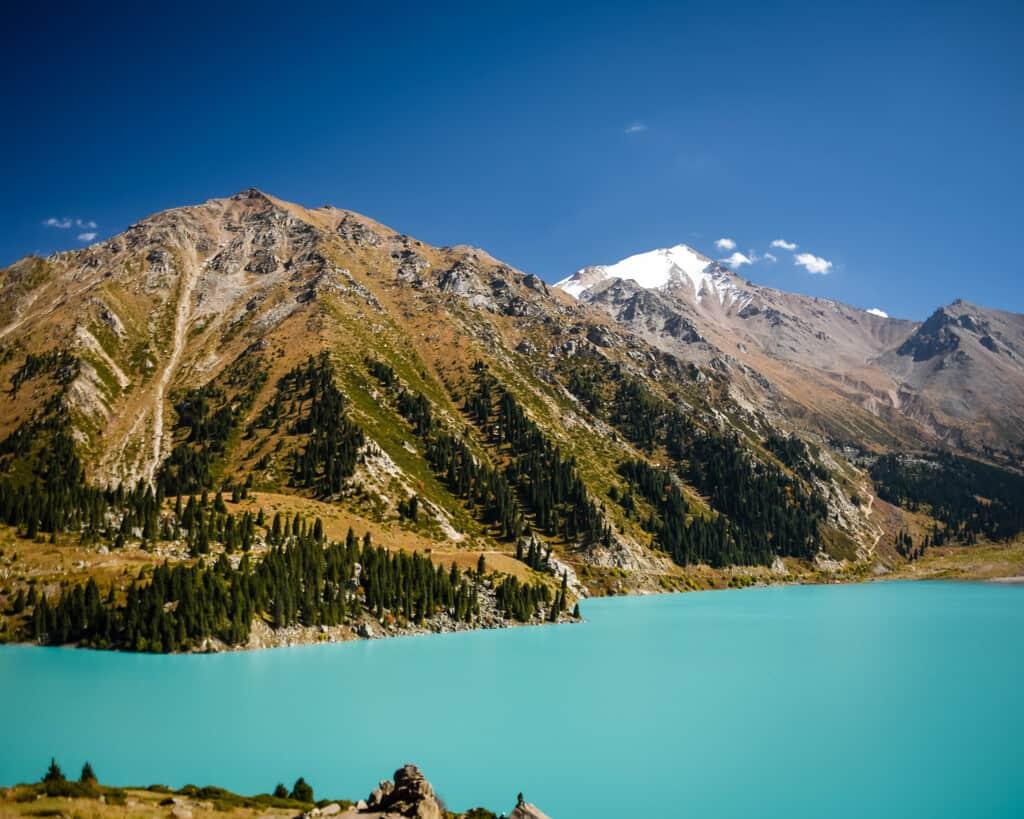 Pictures of Big Almaty Lake in Kazakhstan
