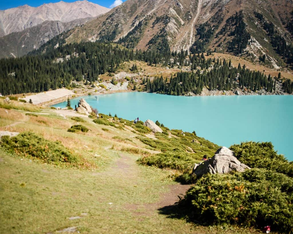 Is this the most beautiful lake in Kazakhstan - or the world?
