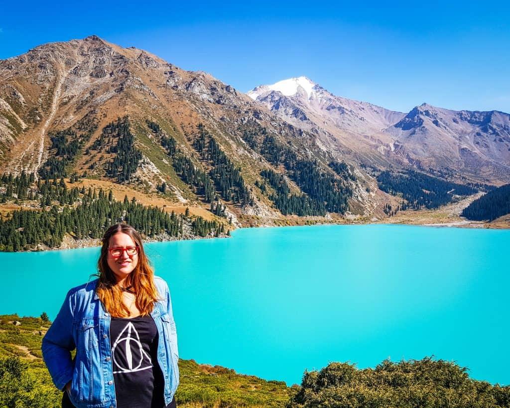 Hanging out at Big Almaty Lake