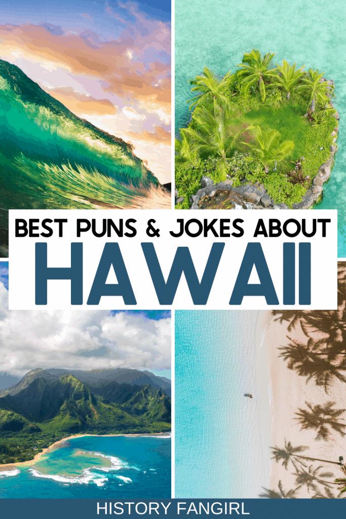 Hawaii Instagram Captions - Hawaii puns - Jokes about Hawaii