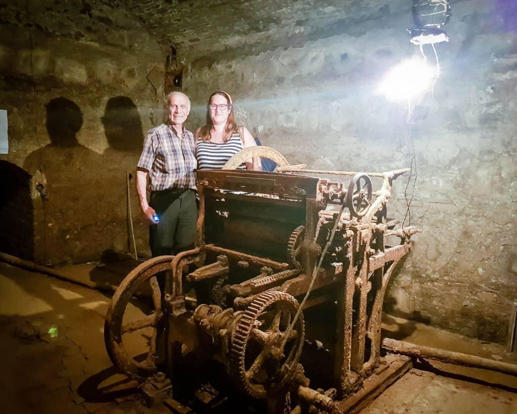 Georgia - Tbilisi - Stalin Underground Printing Press