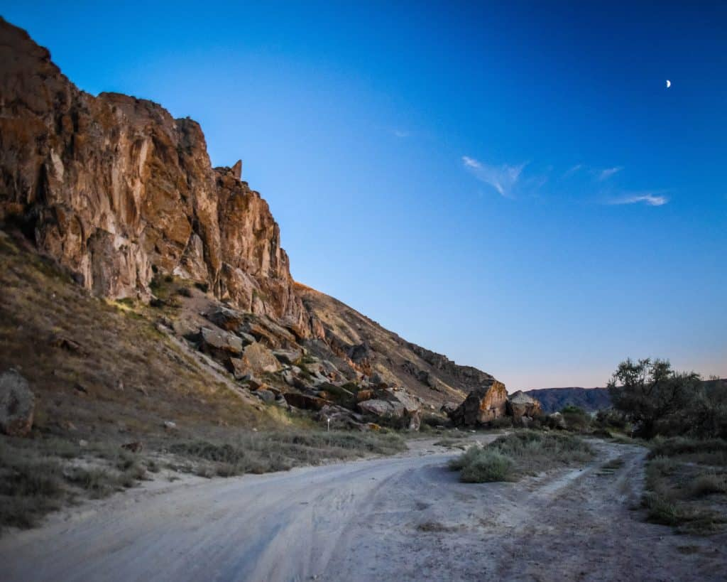 Exploring the Tamgaly Gorge northwest of Almaty