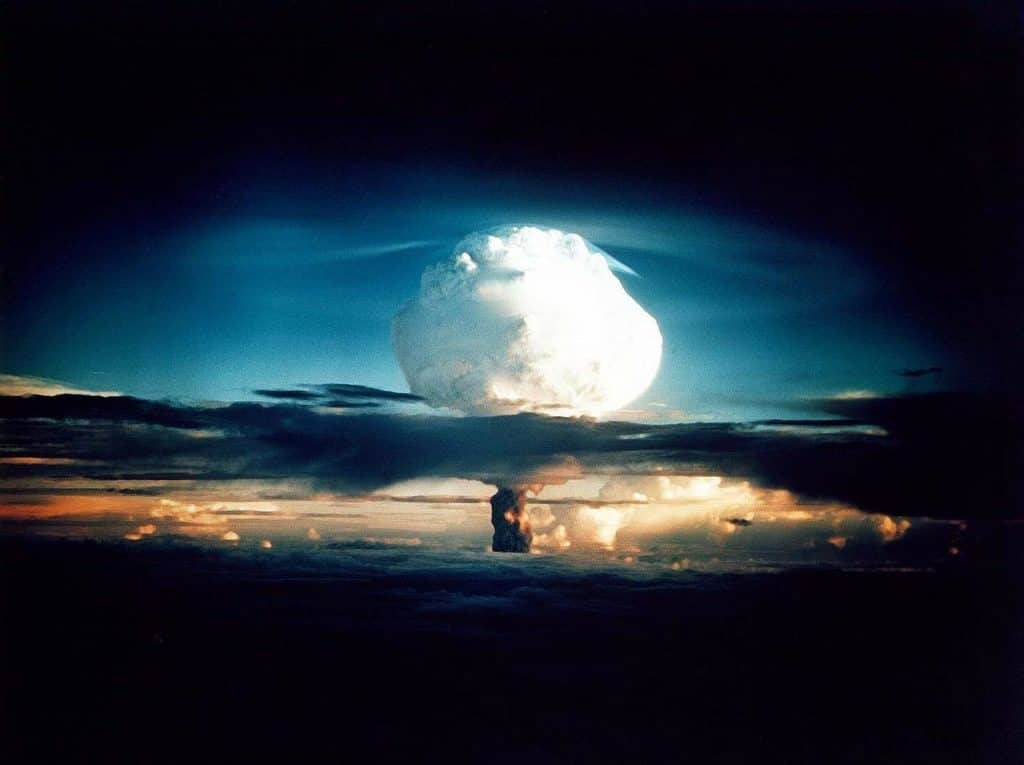 Though Kazakhstan played a central role in the Soviet's side of the Cold War nuclear arms race, it voluntarily handed their nukes back to Russia after the collapse of the USSR.