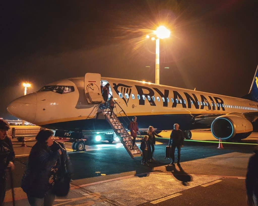 Germany - Berlin - Ryanair Landing