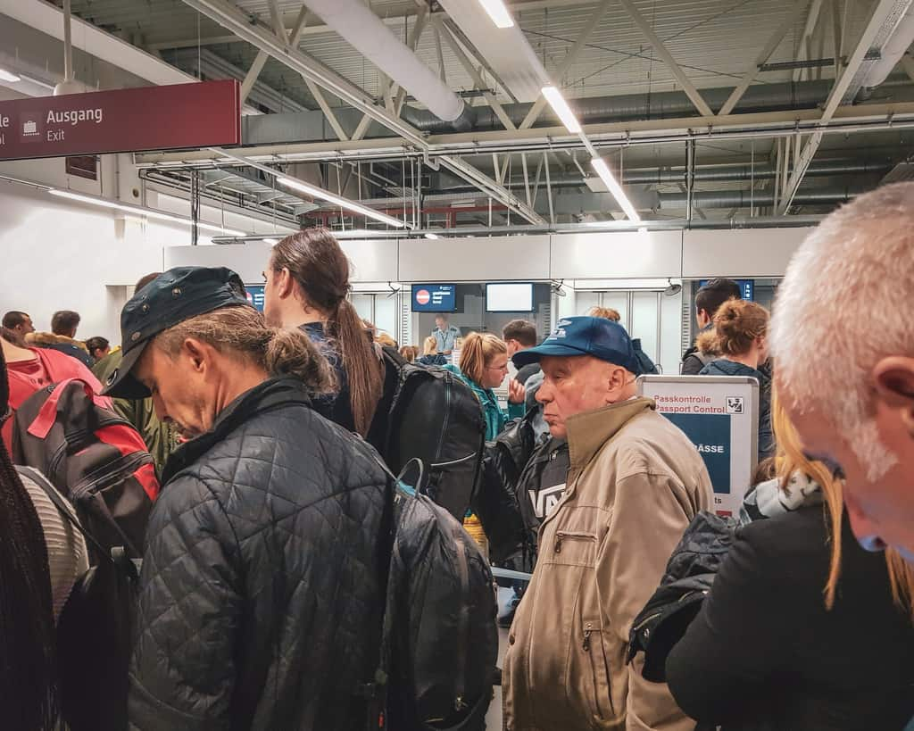 Germany - Berlin - Passport Control Arrivals