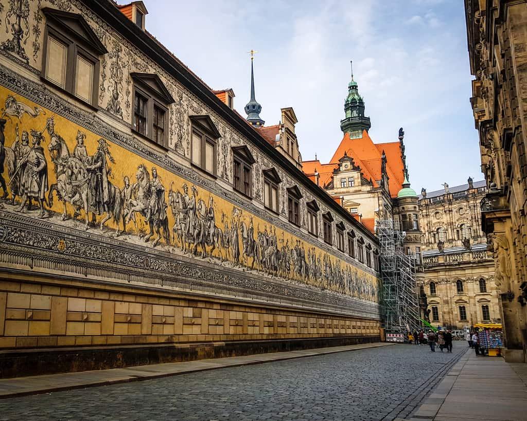 Germany - Dresden - Furstenzug