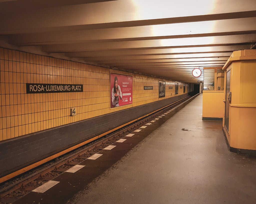 Germany - Berlin - Train Station