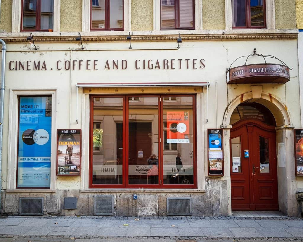 Germany - Dresden Neustadt - Cinema
