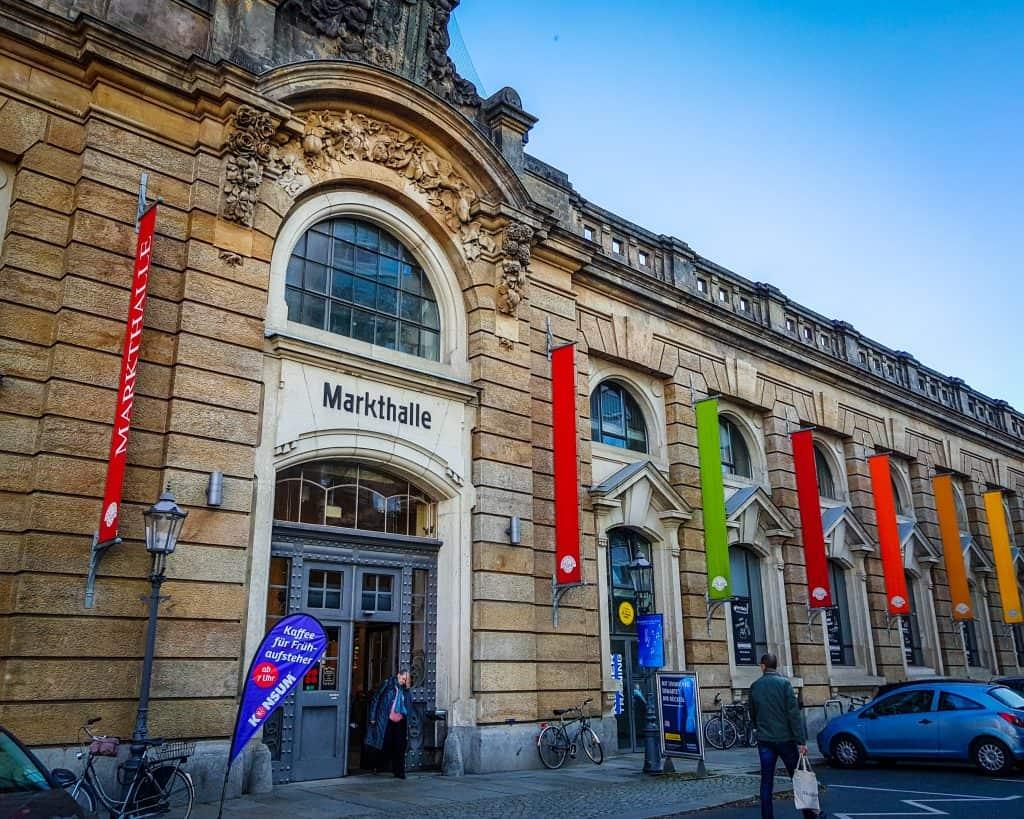 Germany - Dresden Neustadt - Markthalle Markethall