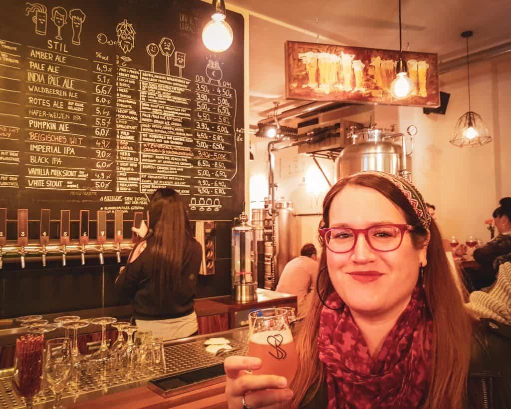 Germany - Berlin - Beer Tour Stephanie