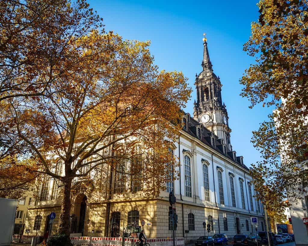 Germany - Dresden Neustadt - Dreikönigskirche