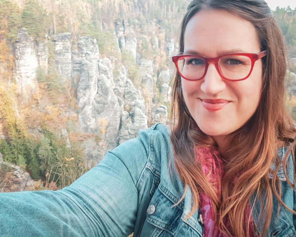 Germany - Saxon Switzerland National Park Selfie