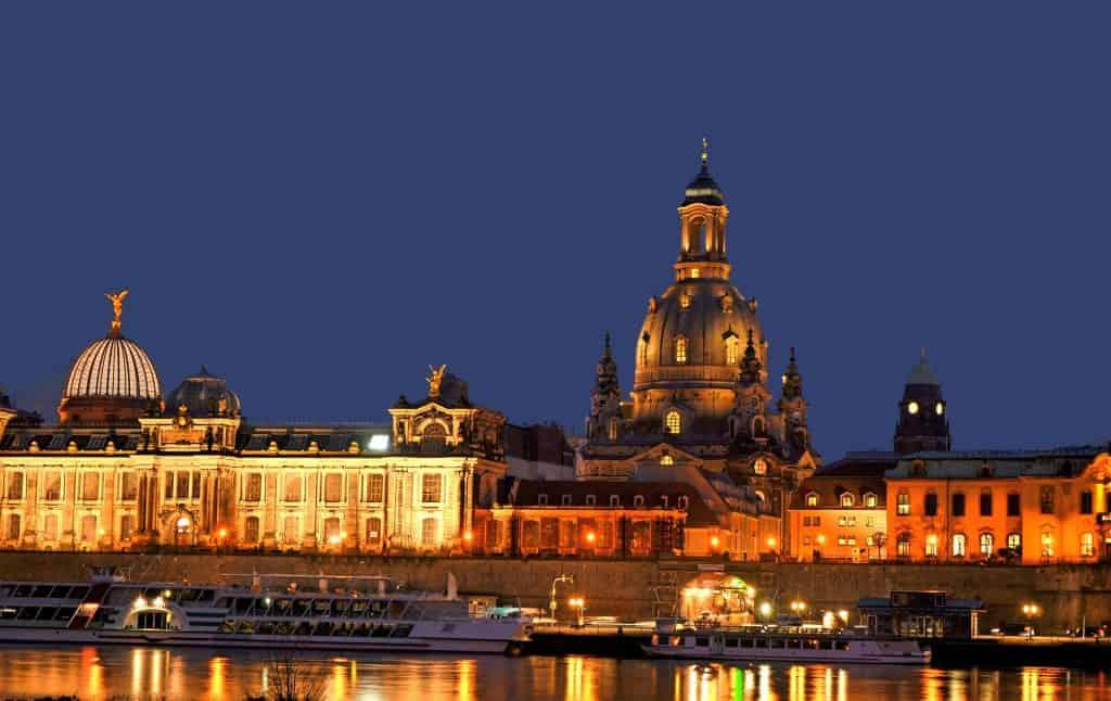 Germany - Dresden - Night - Pixabay