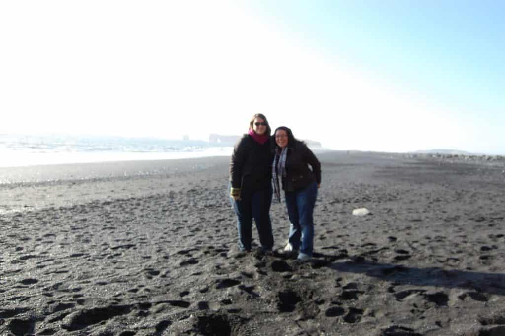 Iceland - Vik - Reynisfjara Black Sand Beach Stephanie