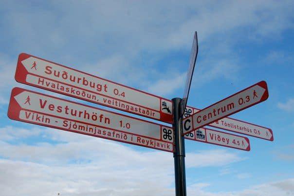 Iceland - Reykjavik - Sign