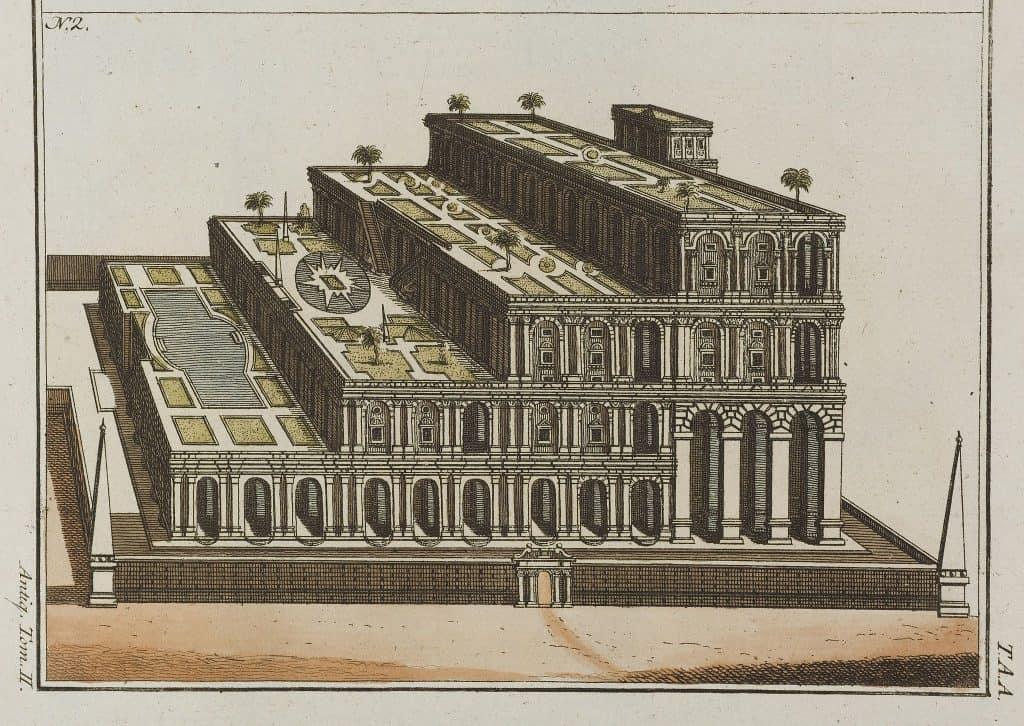 Hanging Gardens of Babylon - Wikimedia Commons