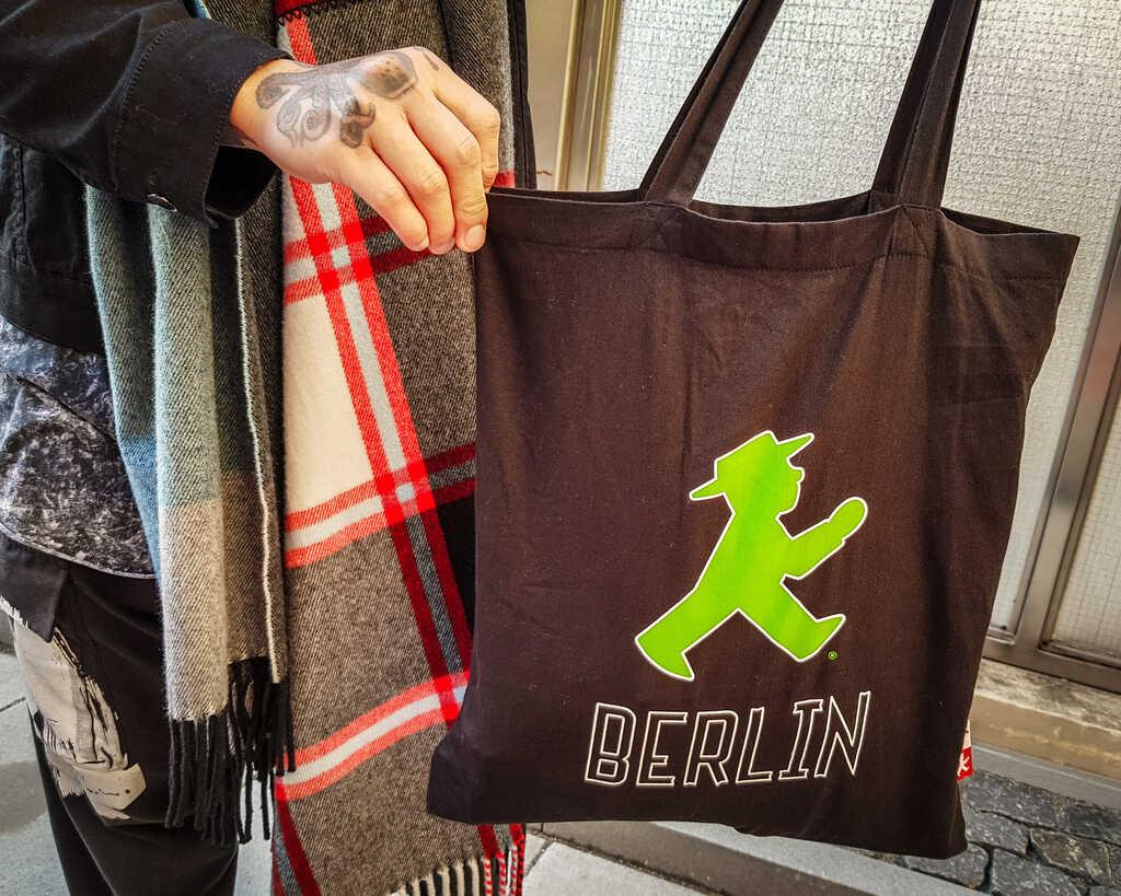 Kids T-SHIRT I LOVE Berlino souvenir Fun