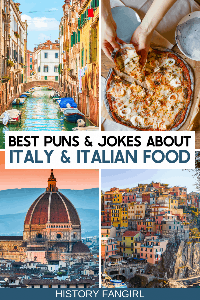 Italy Puns and Italy Jokes for Italy Instagram Captions