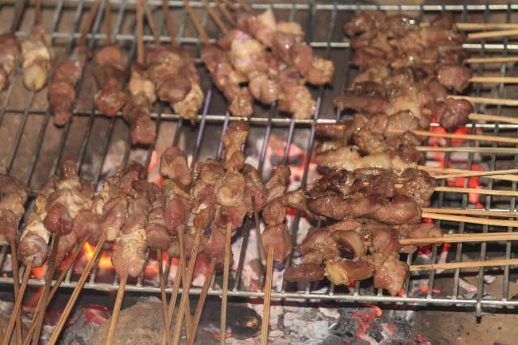 Indonesian Food Satay