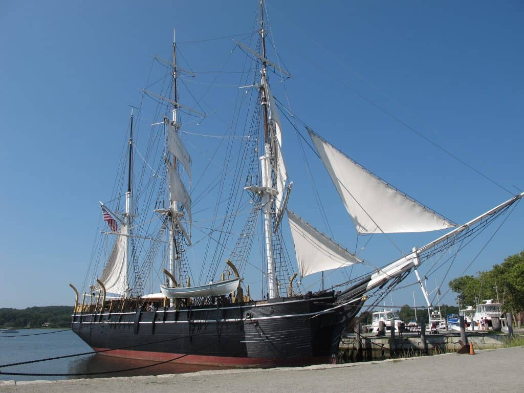 FLICKR - Mystic Seaport Living History Museum, Connecticut Photo by Ken Marshall