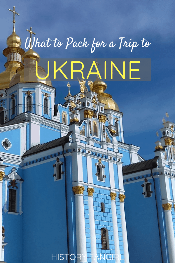 What to Pack for a Trip to Ukraine