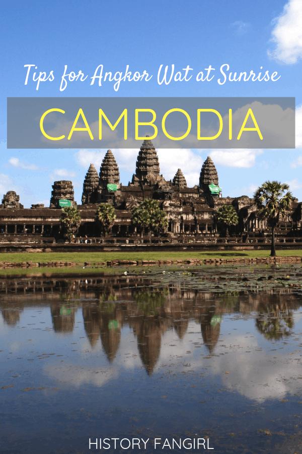 Tips for Visiting Angkor Wat at Sunrise