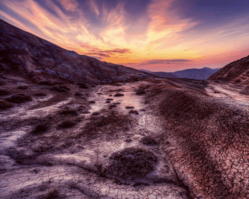 Azerbaijan - Gobustan - Mud Volcanoes - Canva