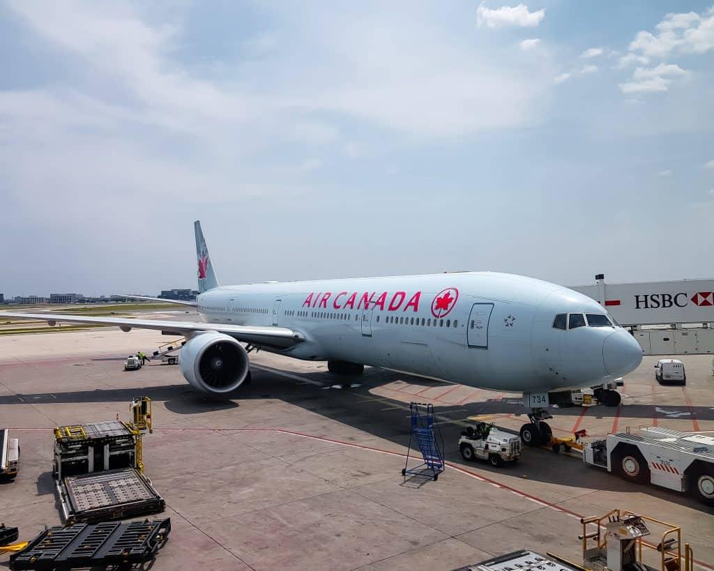 Canada - Toronto -Air Canada Plane