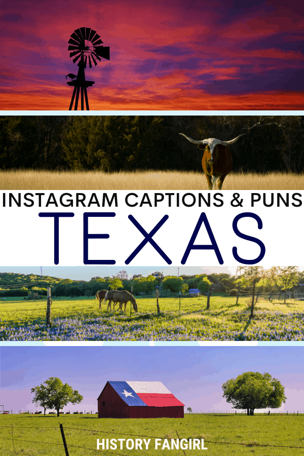 Jokes about Texas Puns for Texas Instagram Captions