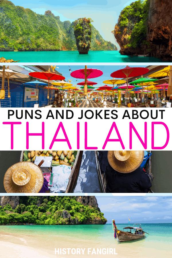 Jokes about Thailand Puns for Thailand Instagram Captions