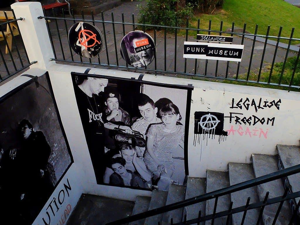 Iceland - Reykjavik - Punk Museum