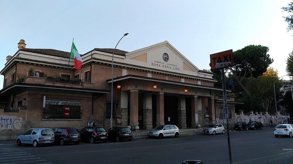 Italy - Rome - Stazione di Roma Porta San Paolo