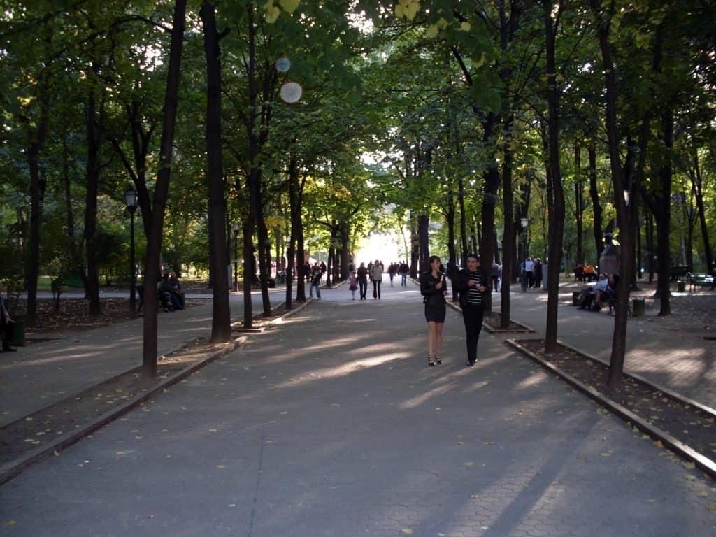 Moldova - Chisinau - Alley of Classics - Public Domain