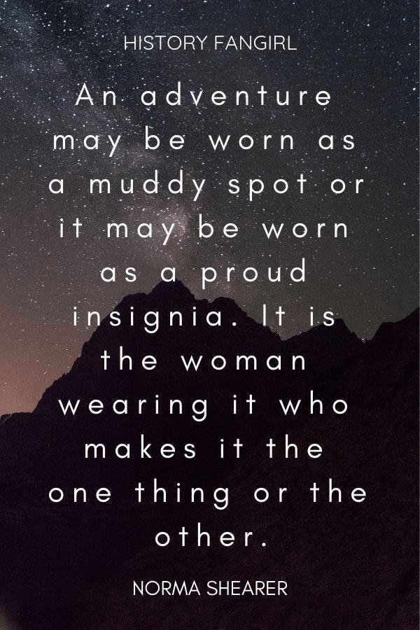 female traveller quotes