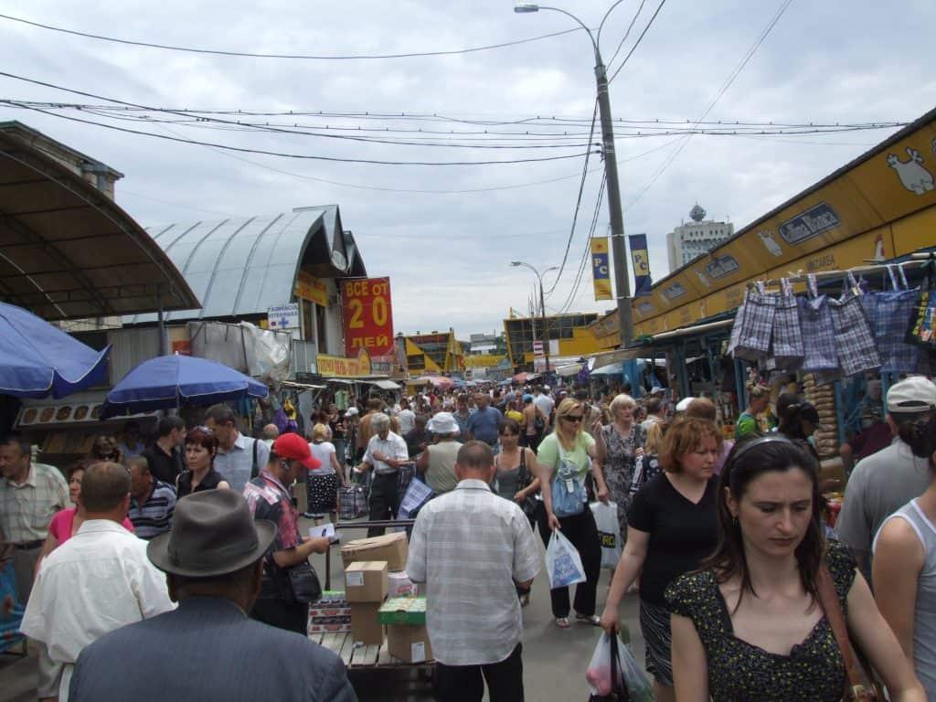 Moldova - Chisinau - Central Market - Wikimedia Commons