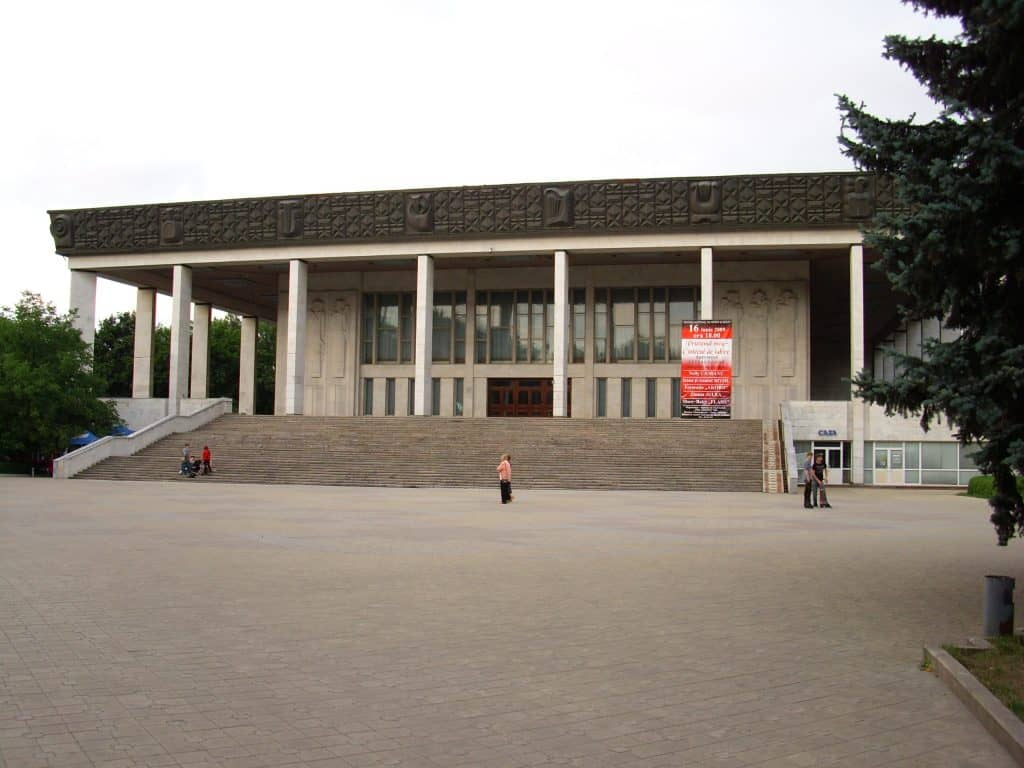 Moldova - Chisinau - National Opera and Ballet - Public Domain