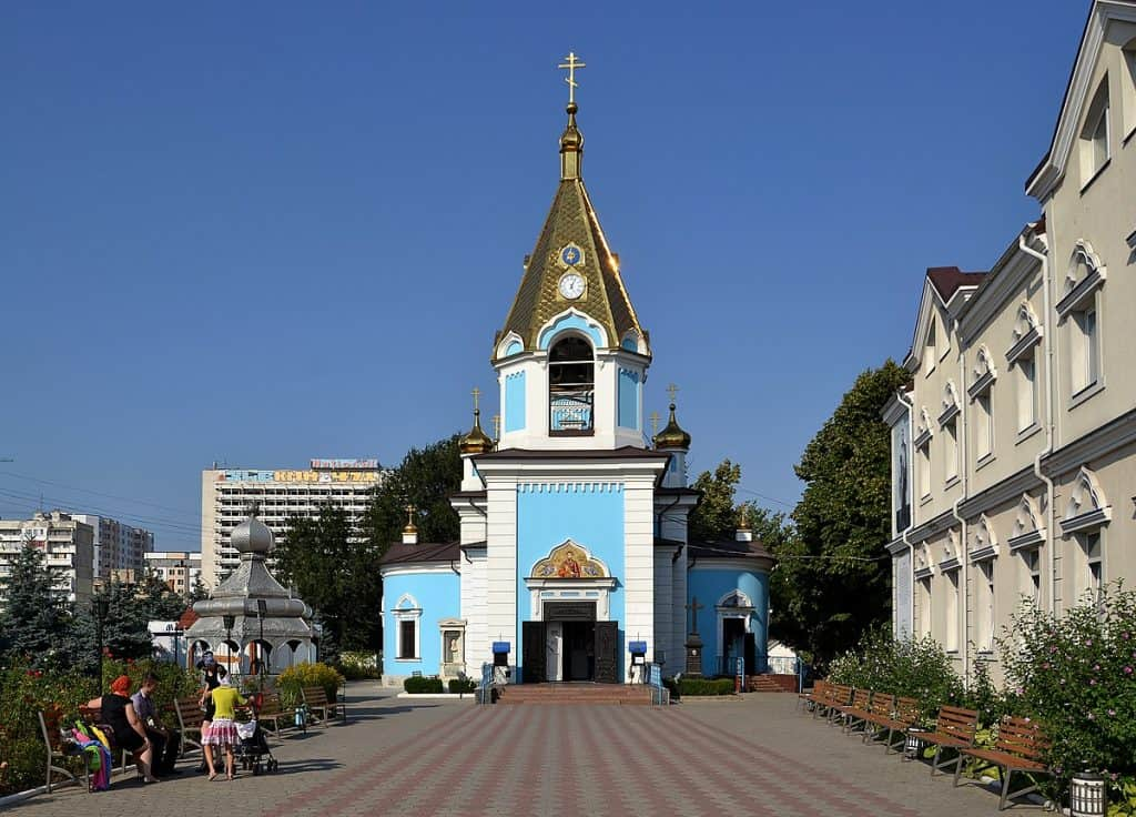 Moldova - Chisinau - Ciuflea Monastery Chișinău - Wikimedia Commons