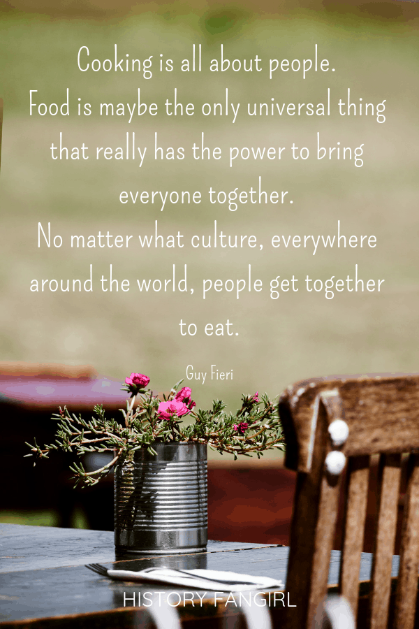 travel and food quotes