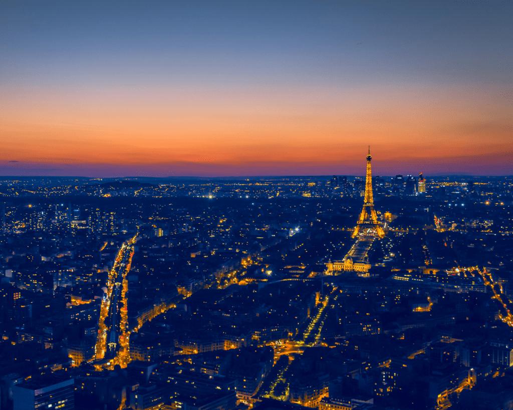 France - Paris at Night - Canva