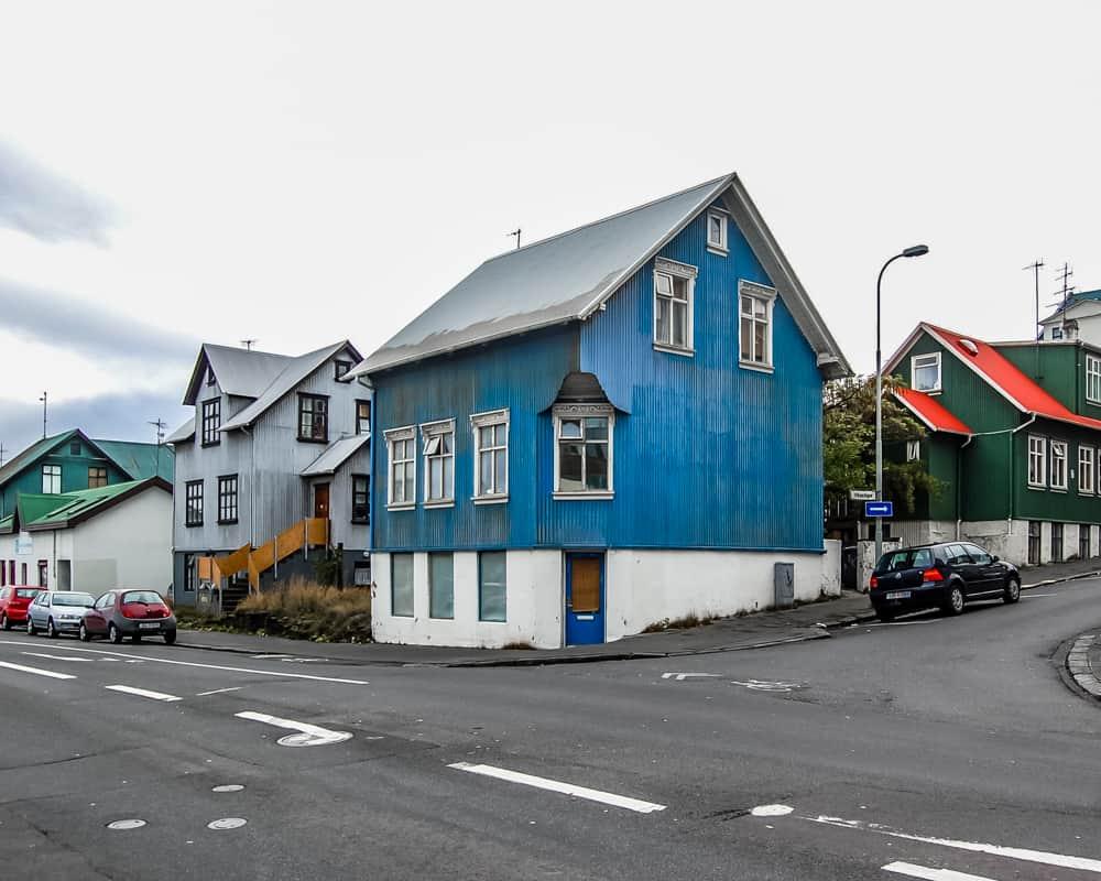 Iceland - Reykjavik - Coloful Houses