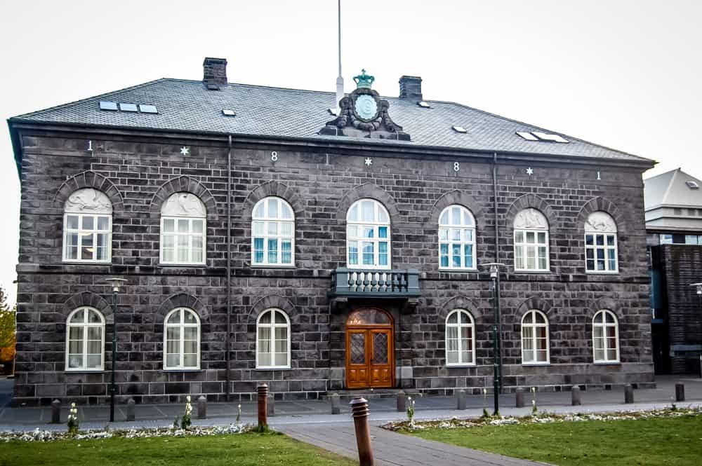 Iceland - Reykjavik - Althing Parliament