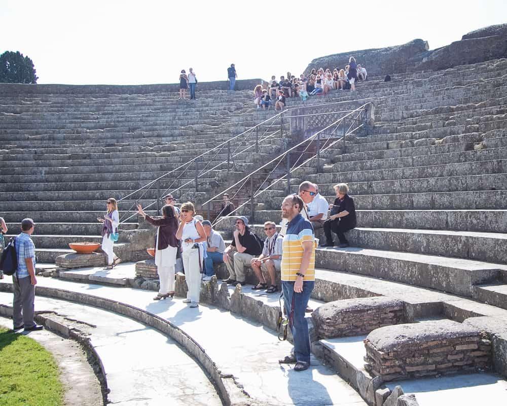 Italy - Ostia Antica - Amphitheater