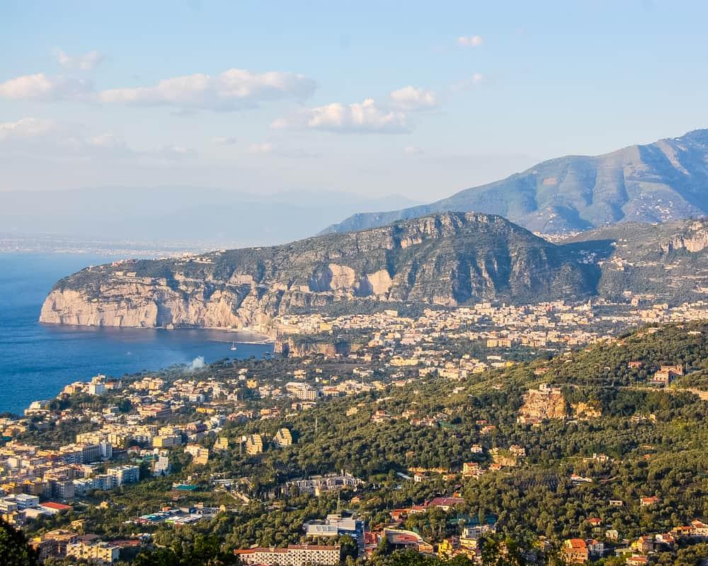 Italy - Sorrento - Amalfi Coast - View from my Amalfi hotel room