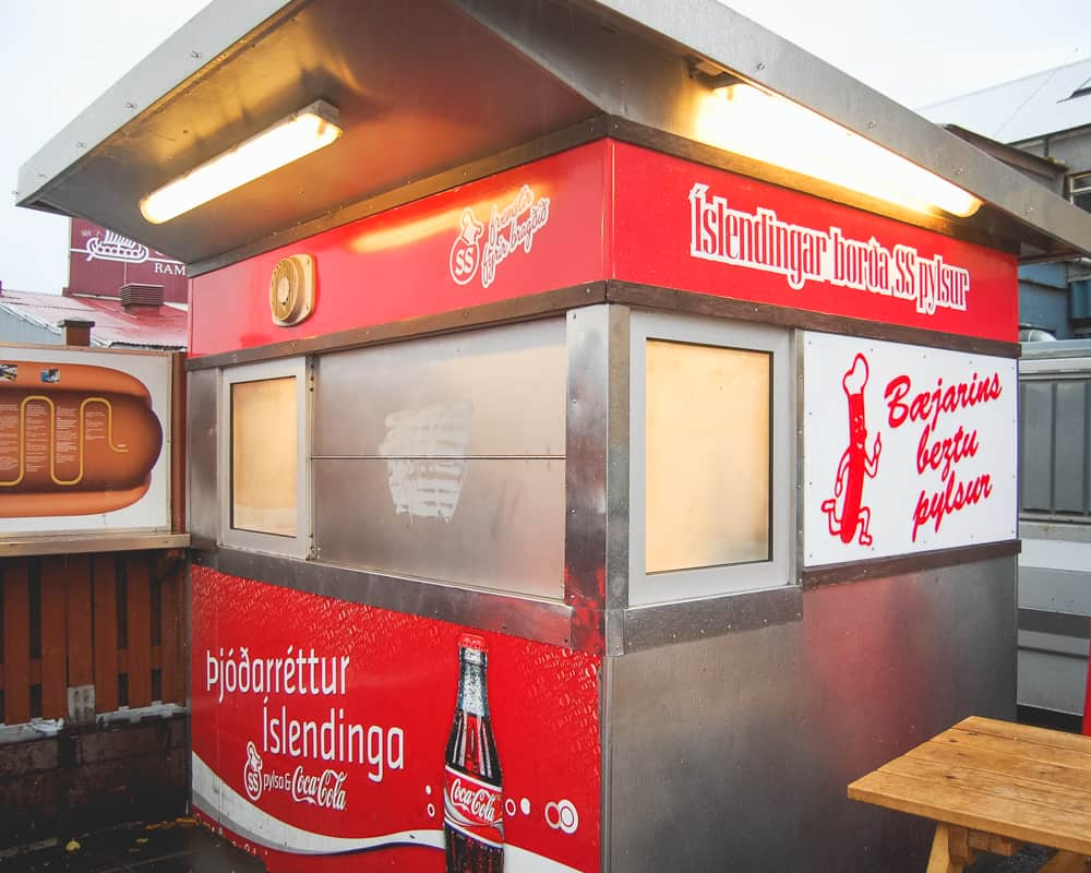Iceland - Reykjavik - Bæjarins Beztu Pylsur Hot Dog Stand