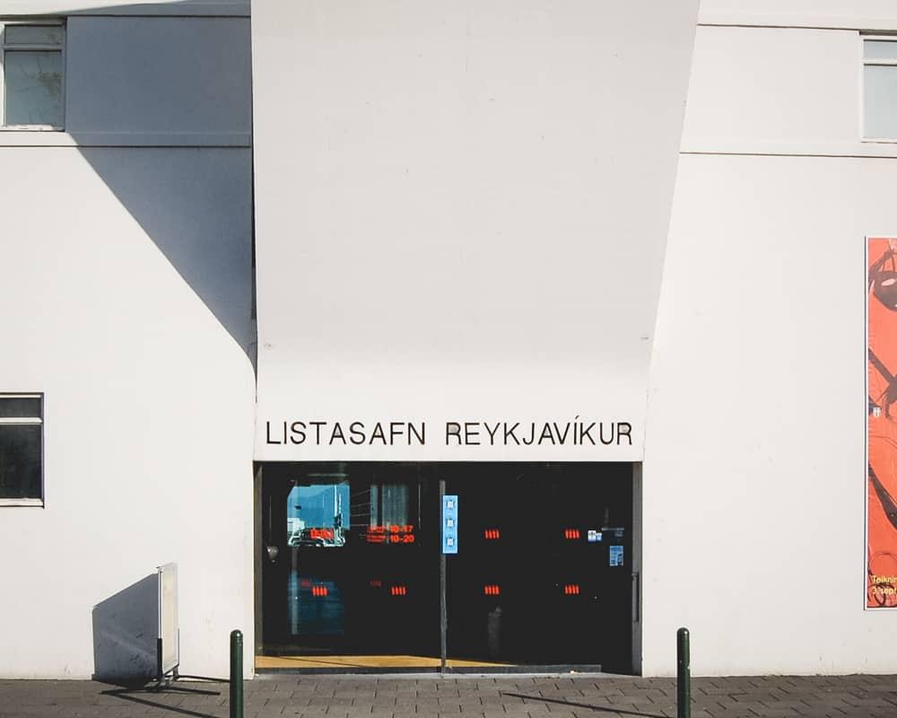 Iceland - Reykjavik - Reykjavik Art Museum Listasafn Reykjavikur