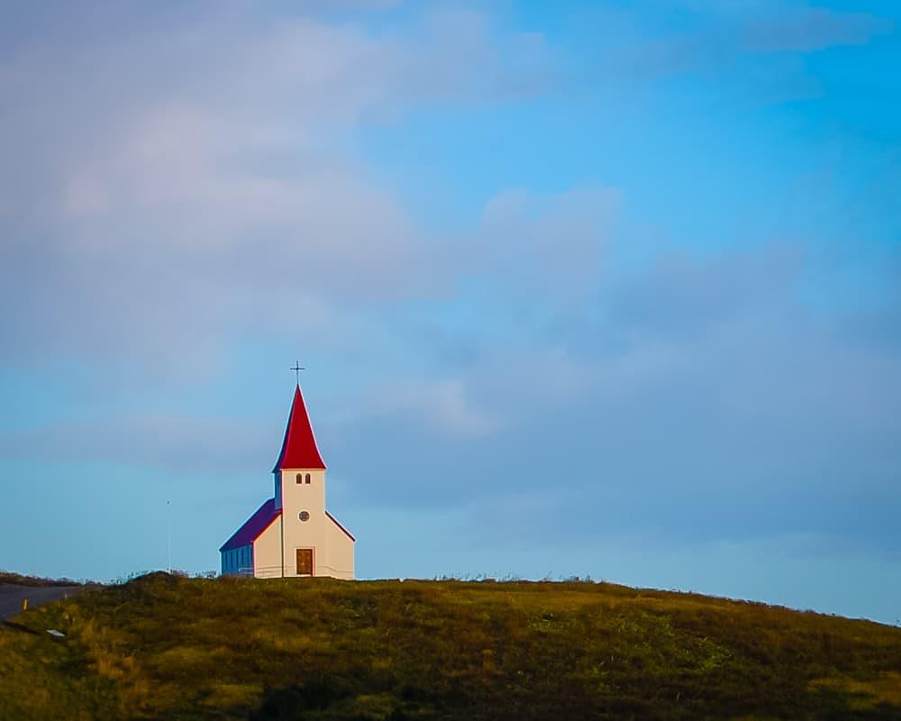 Iceland - Vik - Church