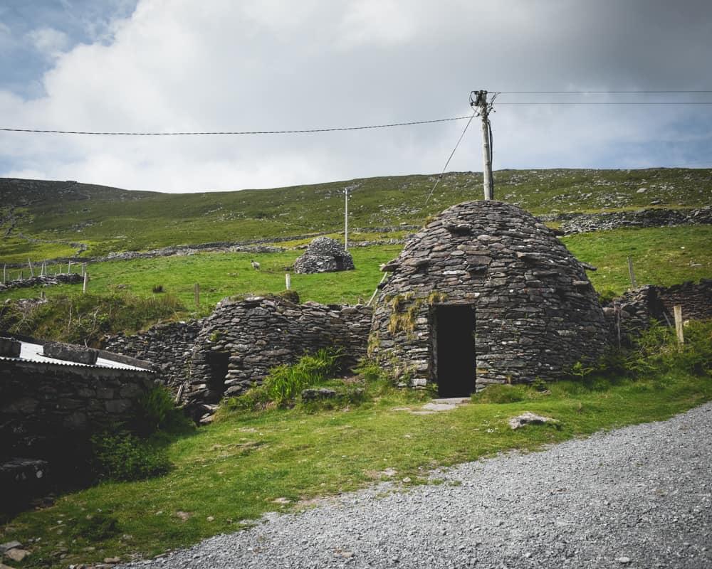 Ireland - Dingle - Beehive on Slea Head Drive