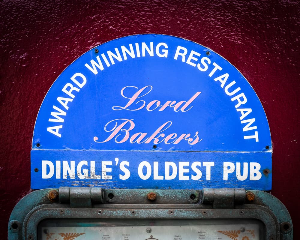 Ireland - Dingle - Lord Baker's