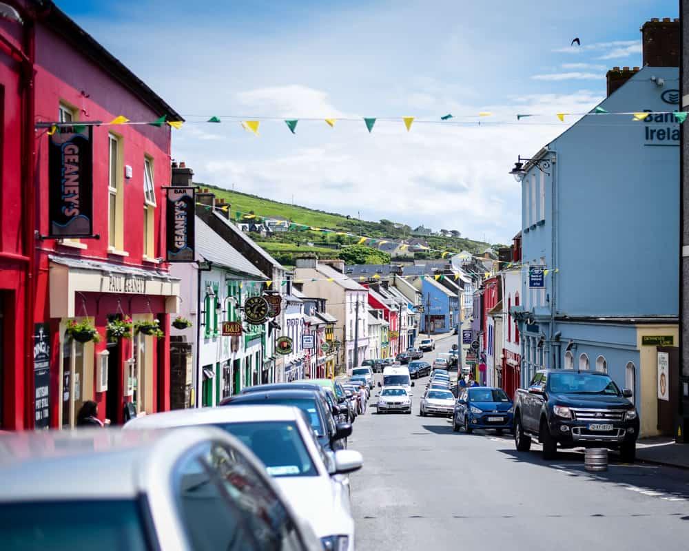 Ireland - Dingle - Colorful Streets